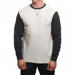 Ripcurl Under Current L/S Top White Marle