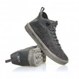 Hey Dude Auris Shoes Charcoal Wool