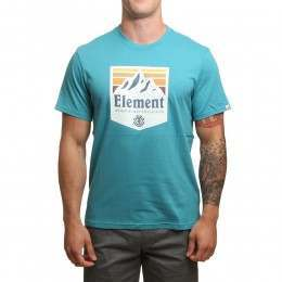 Element Shutter Tee Biscay Bay