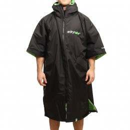 DRYROBE ADVANCED OUTDOOR CHANGING ROBE Black/Green