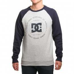 DC Rebuilt 2 Crew Grey Heather