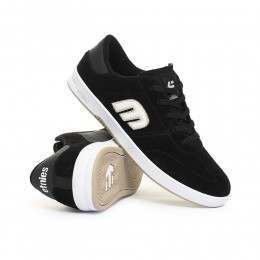 ETNIES LO-CUT SHOES Black/White