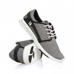 Etnies Scout Shoes Black/Black/White