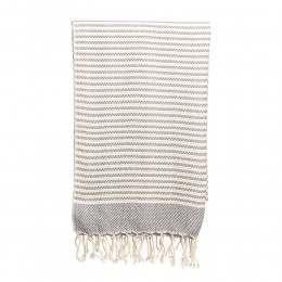 Ebb & Flow Hendra Hammam Towel Grey
