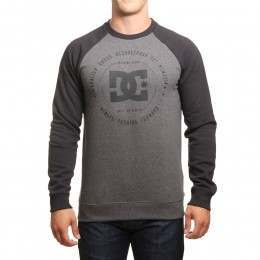 DC Rebuilt 2 Crew Charcoal Heather