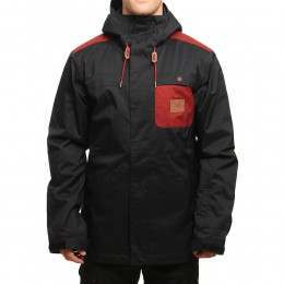 DC Delinquent Snow Jacket Anthracite