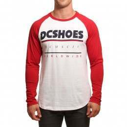 DC Shiftwork Long Sleeve Top Snow White