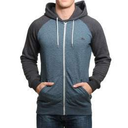 Quiksilver Everyday Z/Hoody Indian Teal