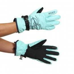 Roxy Poppy Snow Gloves Aruba Blue