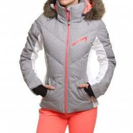 Roxy Snowstorm Snow Jacket Heritage Heather