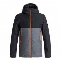 Quiksilver Boys Sierra Snow Jacket Black