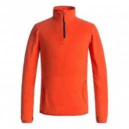 Quiksilver Boys Aker Fleece Mandarin Red