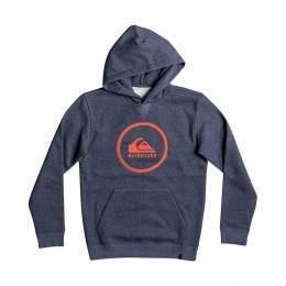 Quiksilver Boys Big Logo Hoody Navy Blazer