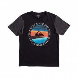 Quiksilver Boys Last Tree Tee Black