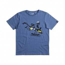 Quiksilver Boys Its Offshore Tee Federal Blue