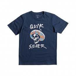 Quiksilver Boys El Bronco Tee Dark Denim