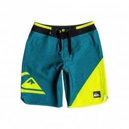 Quiksilver Boys New Wave Boardshorts Moroc Blue