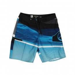 Quiksilver Boys Slash Logo Boardshorts Blue