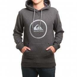 Quiksilver Big Logo Hoody Dark Grey Heather