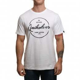 Quiksilver Silvered Tee White
