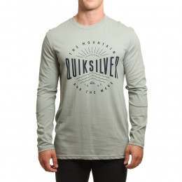 Quiksilver Mad Wave L/Sleeve Top Slate Gray