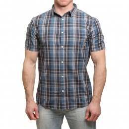 Quiksilver Everyday Check Shirt Real Teal