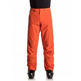 Quiksilver Estate Snow Pants Mandarin Red