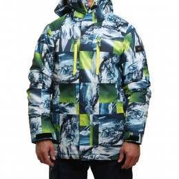 Quiksilver Mission Print Snow Jacket Mountain