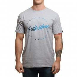 Quiksilver Right Up Tee Athletic Heather