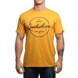 Quiksilver Silvered Tee Golden Glow