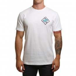 Quiksilver 80 Prism Tee White