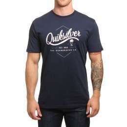 Quiksilver Sea Tales Tee Navy Blazer