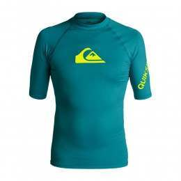 Quiksilver All Time Short Sleeve Rash Vest Morocco