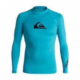 Quiksilver All Time Long Sleeve Rash Vest Blue