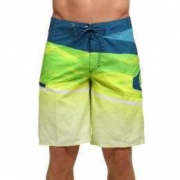 Quiksilver Slash Logo Vee Boardshorts Green Gecko