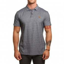 Quiksilver Final Leg Polo Shirt Navy Blazer
