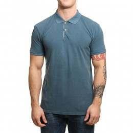Quiksilver Miz Kimitt Polo Shirt Indian Teal