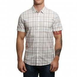 Quiksilver Everyday Check S/S Shirt Snow White