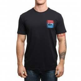 Quiksilver Walled Up Tee Black