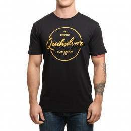 Quiksilver Silvered Tee Black