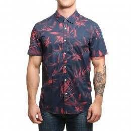 Quiksilver Everyday Print S/S Shirt Navy Blazer