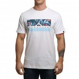 Quiksilver Jungle Box Tee White