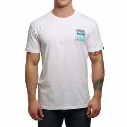Quiksilver Walled Up Tee White