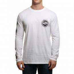 Quiksilver Balanced Long Sleeve Top White