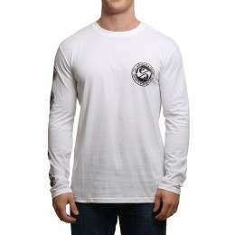 Quiksilver Balanced Long Sleeve Top White