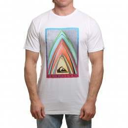 Quiksilver Stacked Tee White