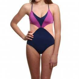Roxy Summer Cocktail One Piece Blue Depths