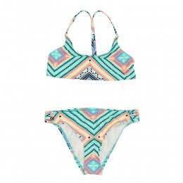 Roxy Girls Hippie College Bikini Pool Blue