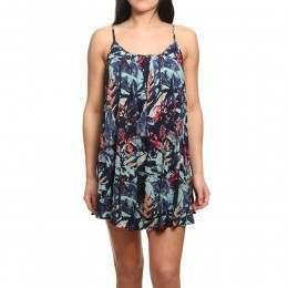 Roxy Windy Fly Away Printed Dress Dress Blues