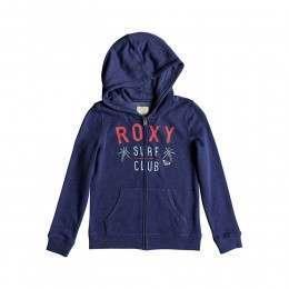 Roxy Girls The Endless Round Z/Hoody Deep Cobalt